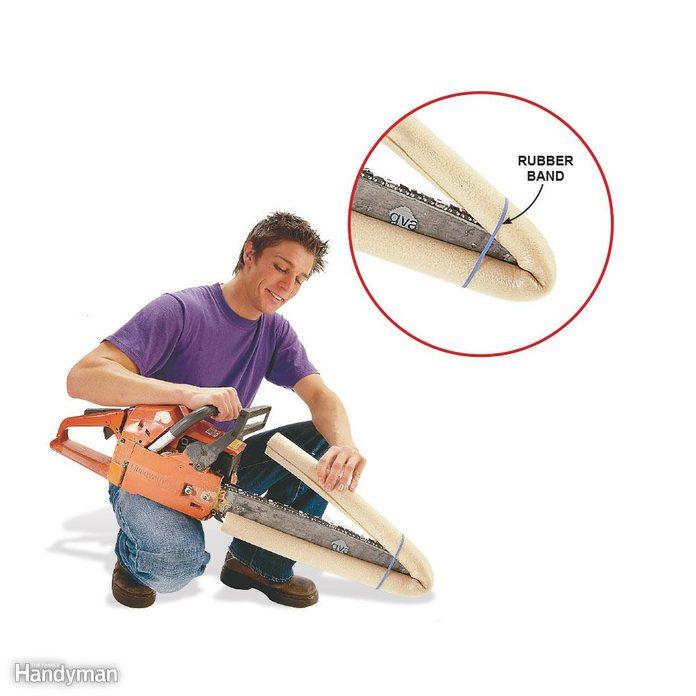 Chain Saw Blade Guard