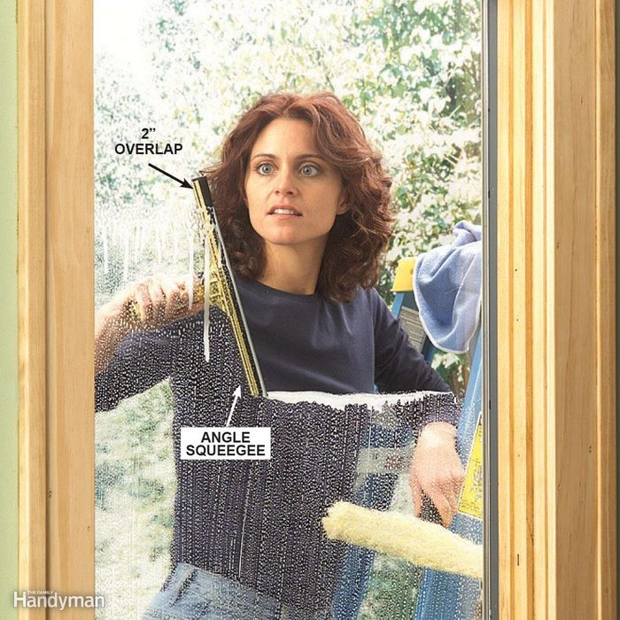 Work down the window