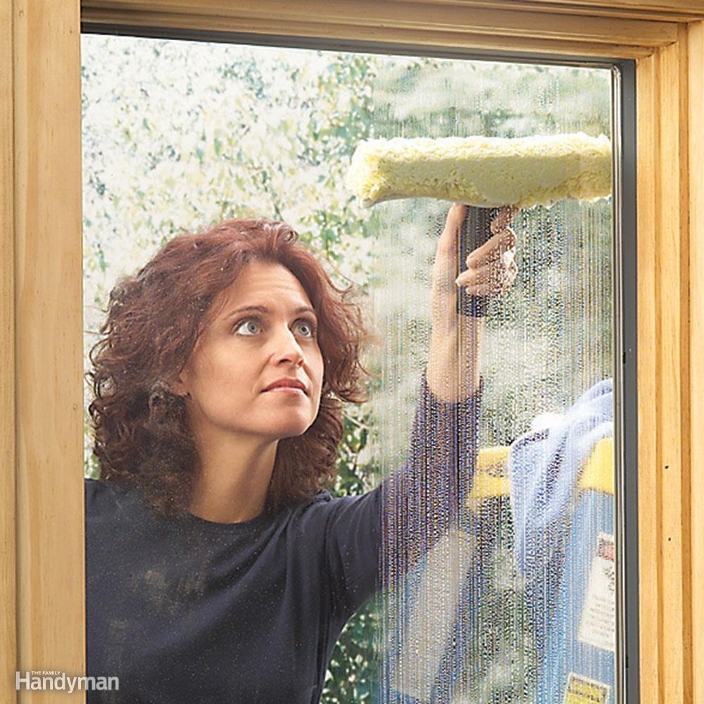 Recap: 10 easy steps to clean windows. Step 1