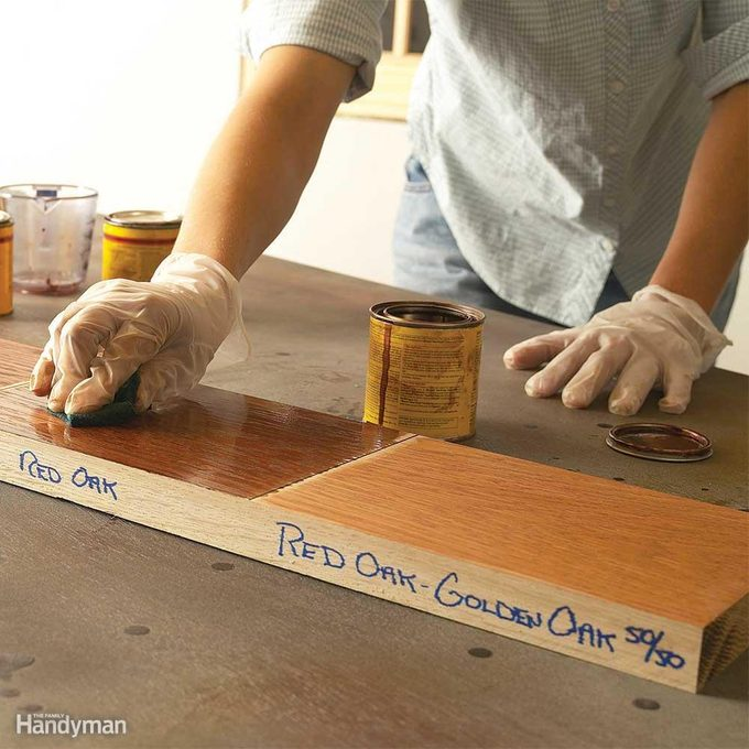 Wood Finishing Techniques: Test Stains Thoroughly!