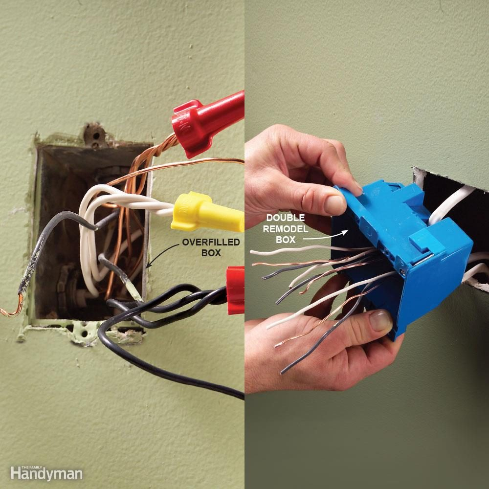 Mistake 8: Overfilling Electrical Boxes