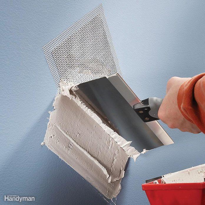 Self-Sticking Wall Patch
