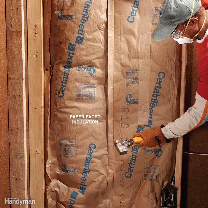 Avoid Paper-Faced Insulation Where Possible