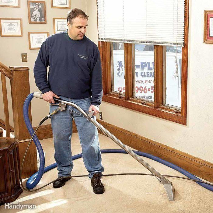 Hiring a Pro Carpet Cleaner