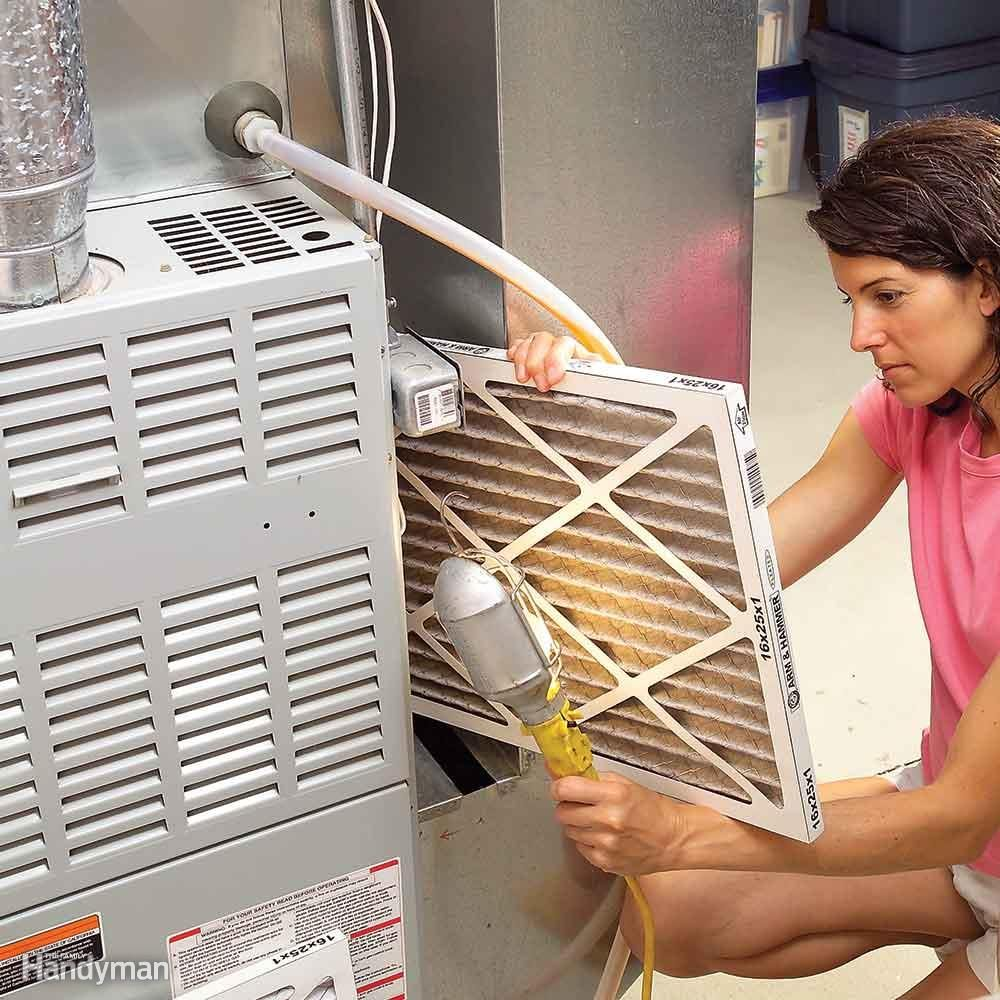 Clean or Change AC Filters Monthly