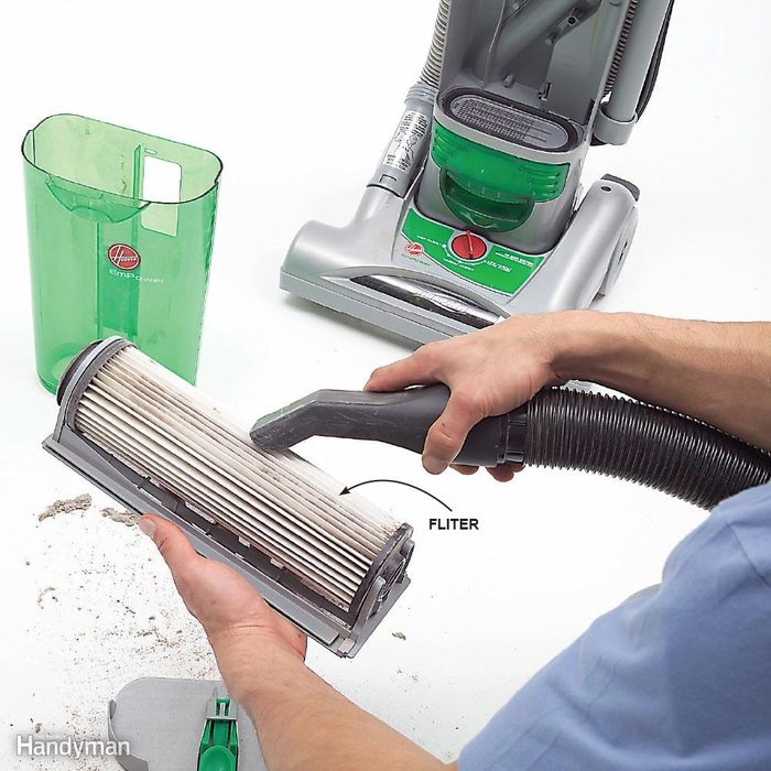 Clean a Vacuum with a Vacuum