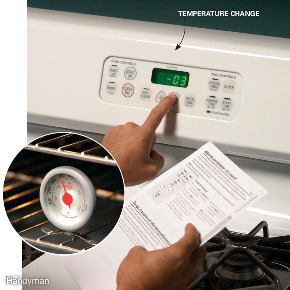 Recalibrate Your Oven Temperature Setting