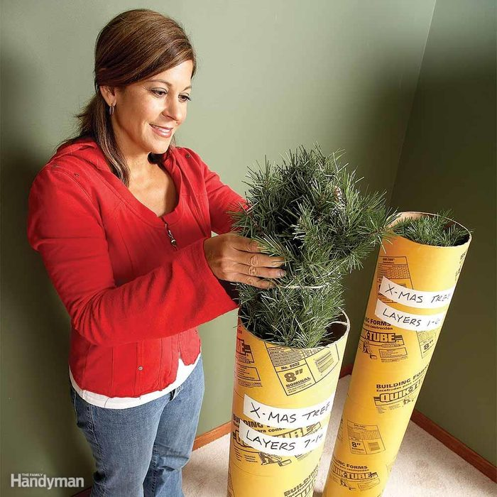 Store Your Artificial Tree in a Tube