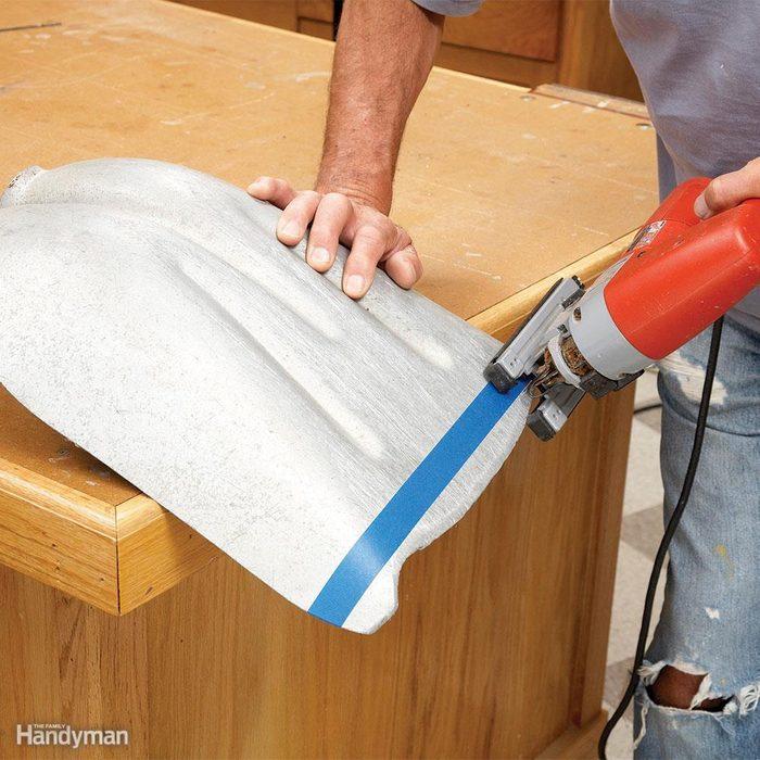 Restore an Aluminum Snow Shovel