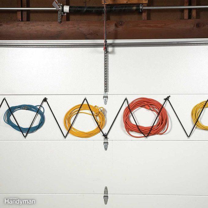 Garage Door Extension Cord Storage
