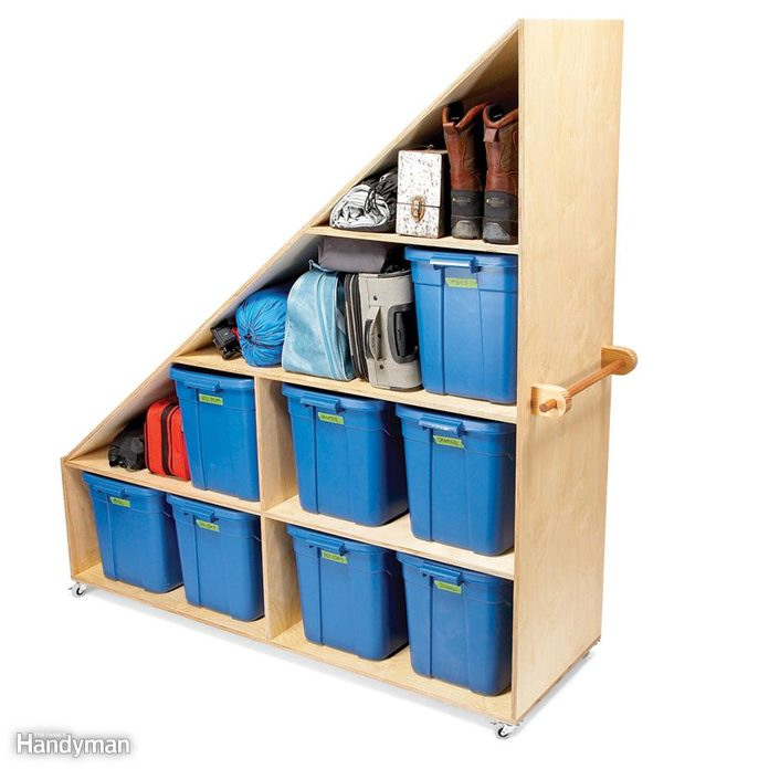 Basement Junk Storage