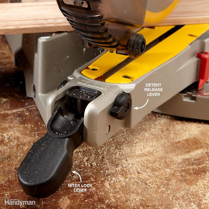 It's Easier to Lock in the Miter on Some Saws