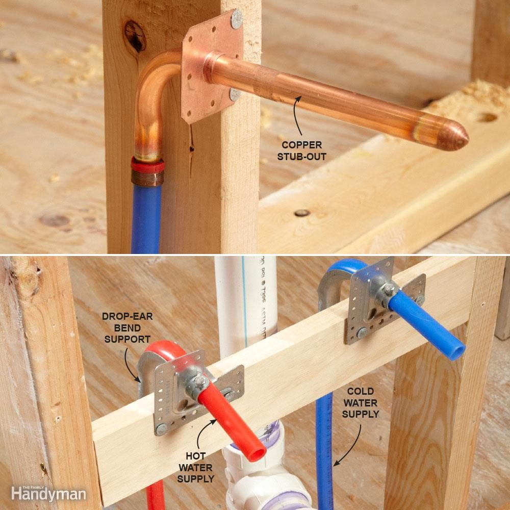 How to Connect PEX Pipes to Fixtures
