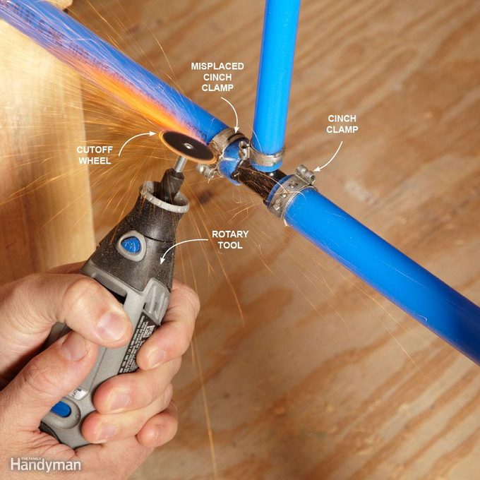 How to Take Apart PEX Piping