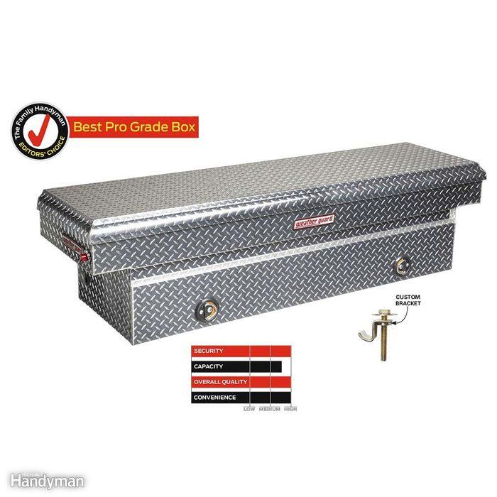 Weather Guard No. 117-0-02 Extra-Wide Aluminum Saddle Box