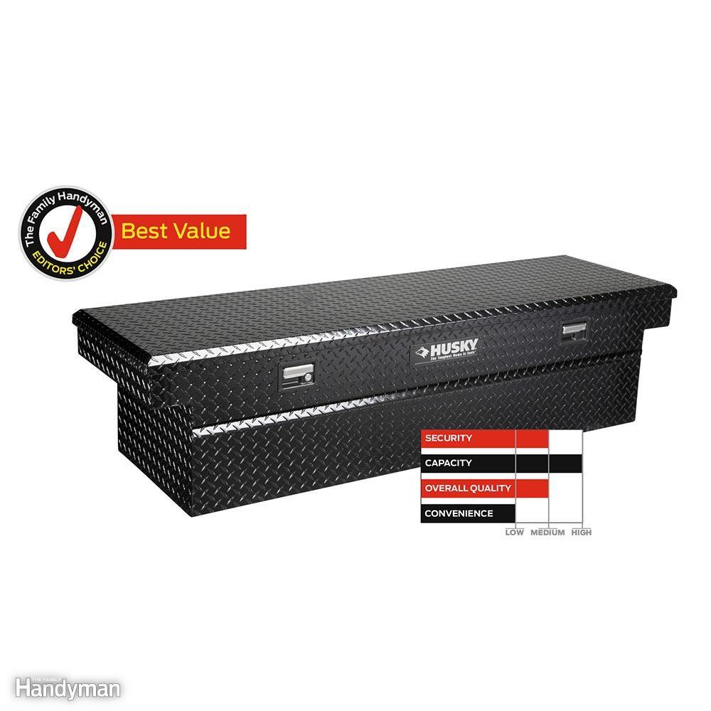 Husky Full-Size Deepwell Cross-Bed Truck Box, No. HSKALF591BK