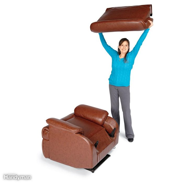 Take the Back Off a Recliner