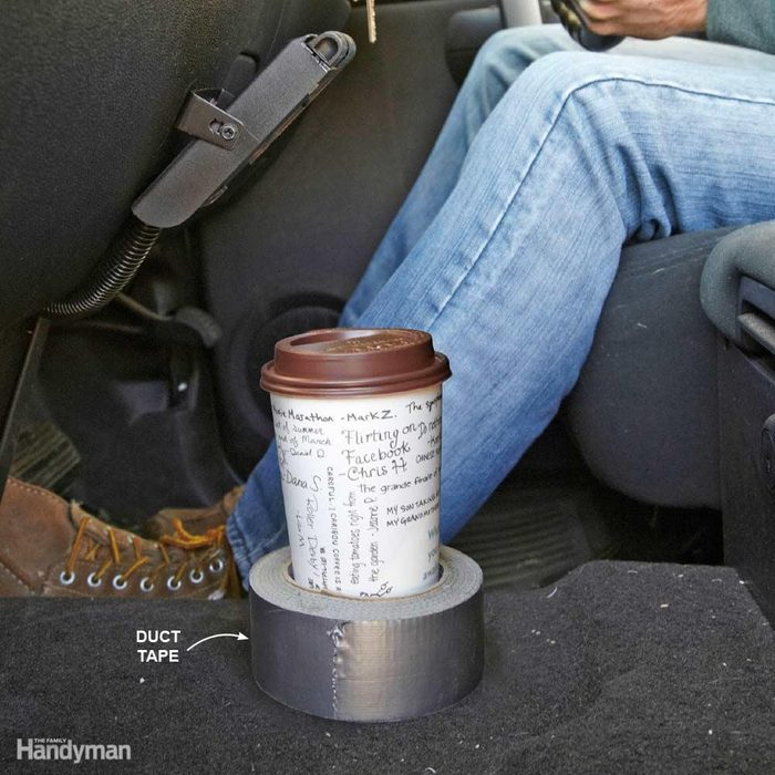 Duct Tape Drink Holder