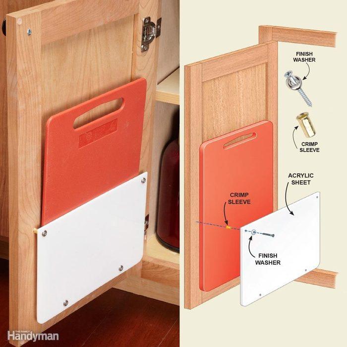 Kitchen Storage: Cutting Board Storage