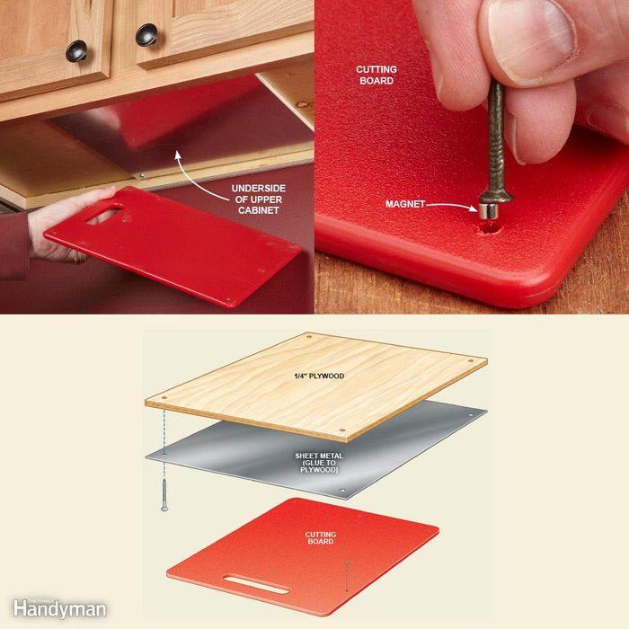 Hidden Cutting Board