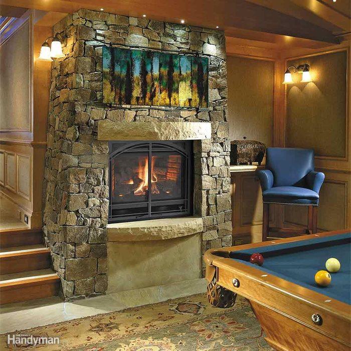 Add a Gas Fireplace