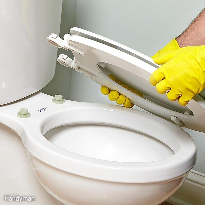 Install a Detachable Toilet Seat