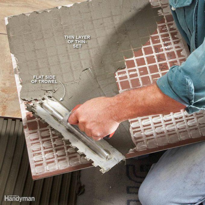 Back-Butter Large Tile