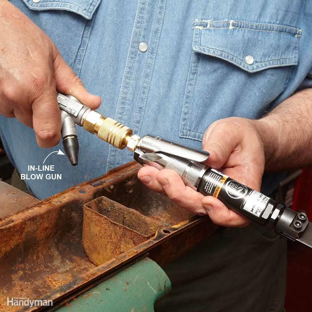 In-Line Blow Gun