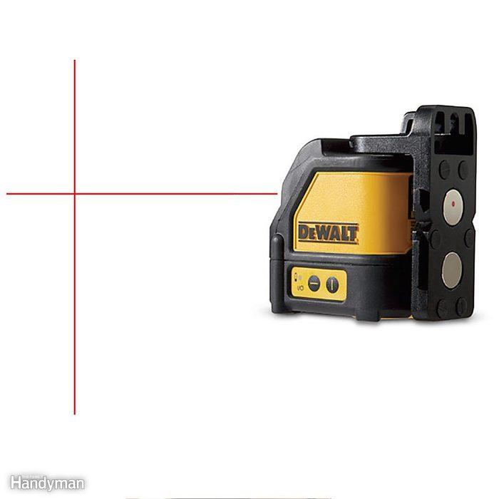 Self-Leveling Cross Line Laser