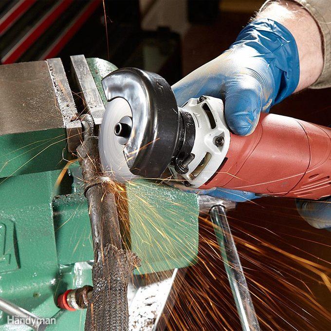 Zip Through Metal With an Electric Cutoff Tool