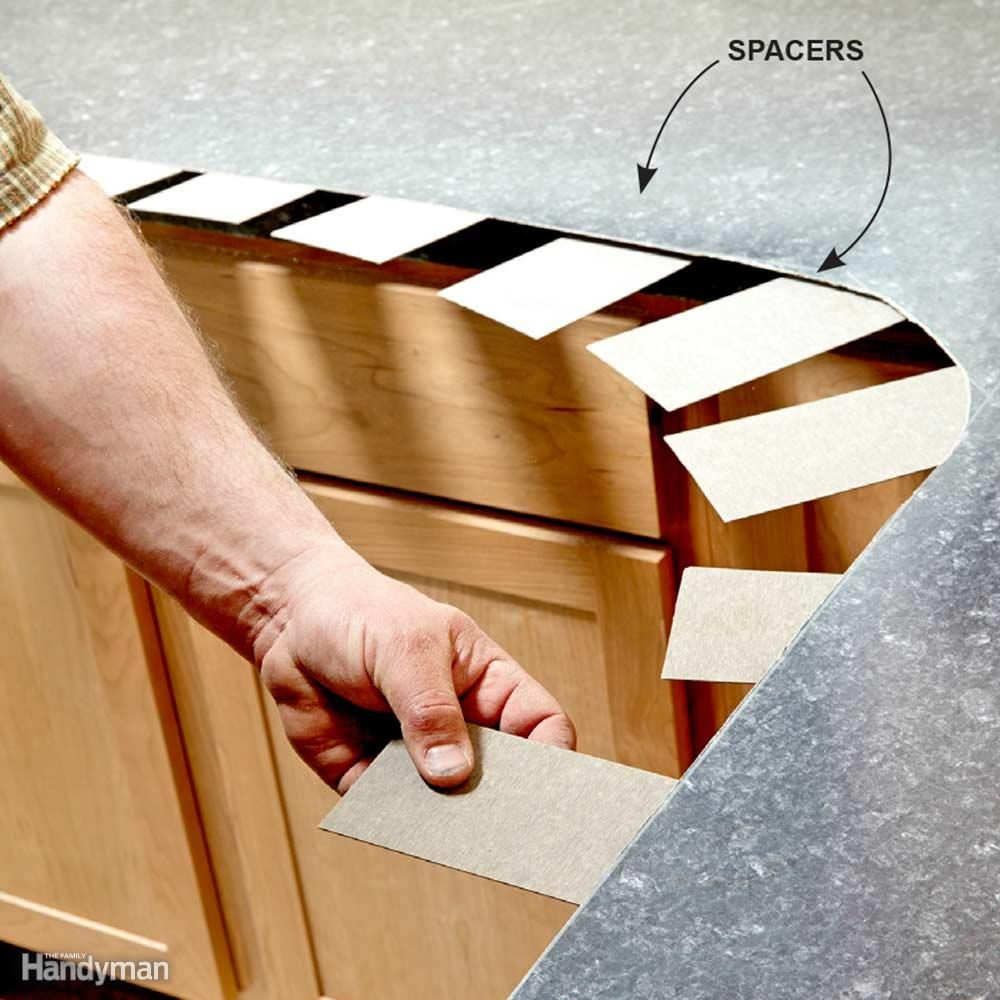 Use Spacers to Install the Top