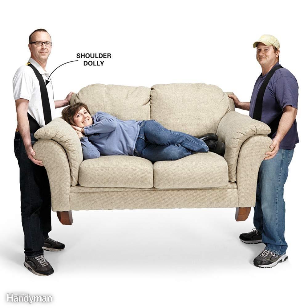 Furniture Carrying Straps: Shoulder Dolly
