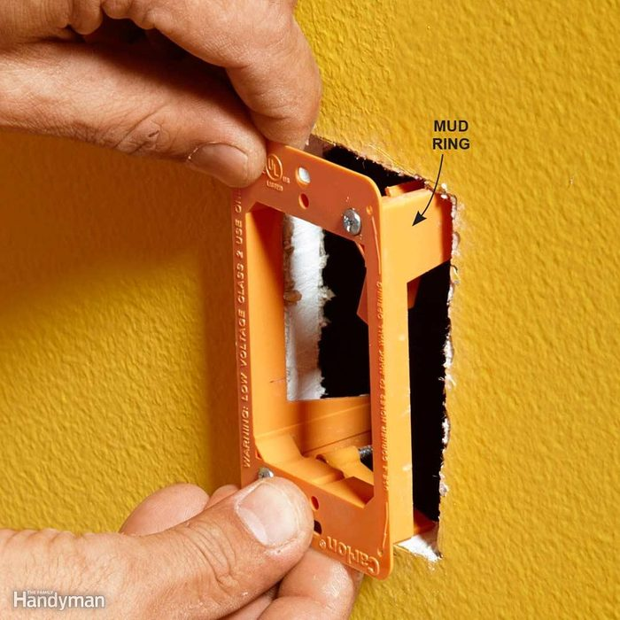 Protect Drywall With a Mud Ring