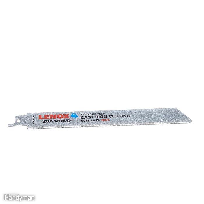 Diamond-grit blade for cast iron