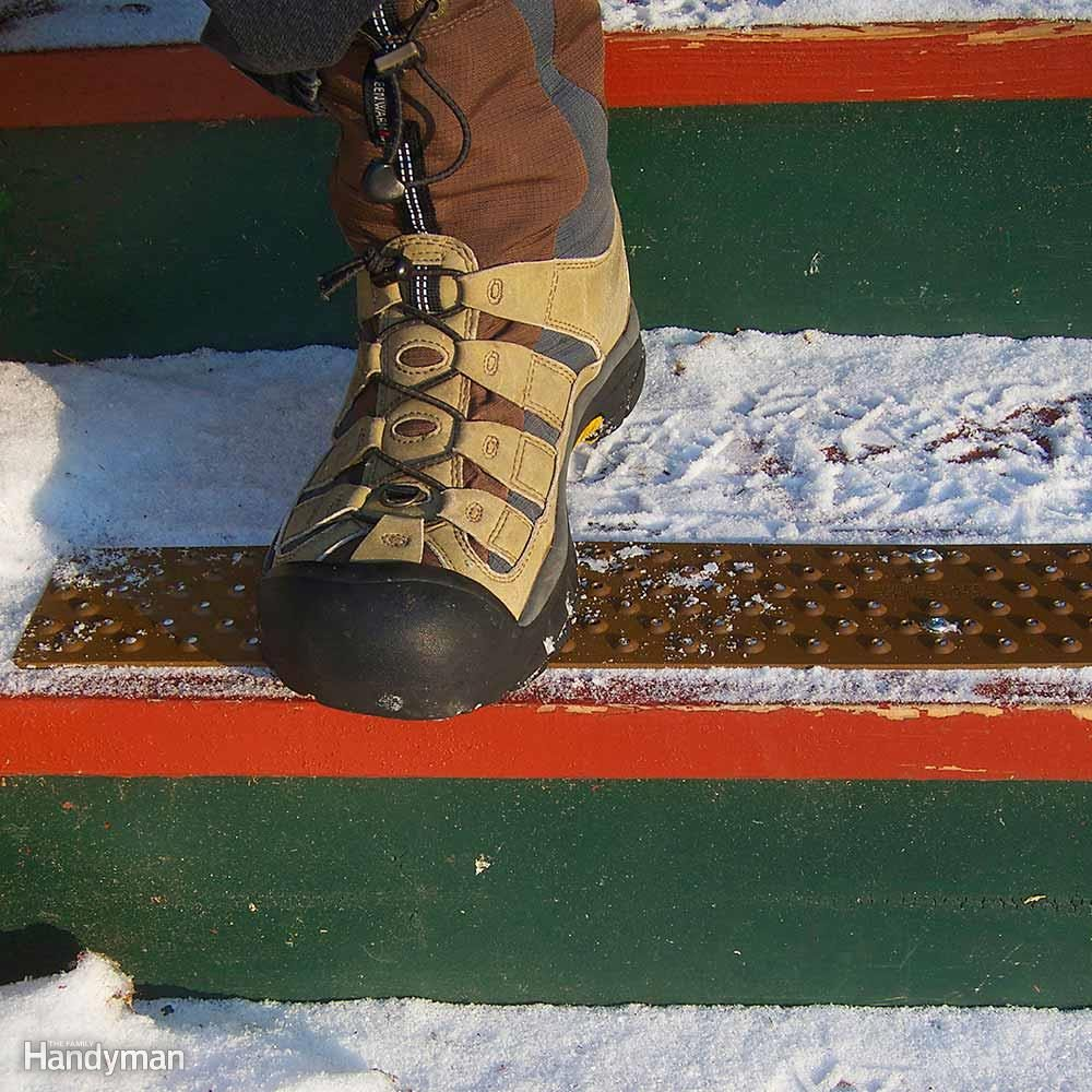 Add Friction to Slippery Surfaces