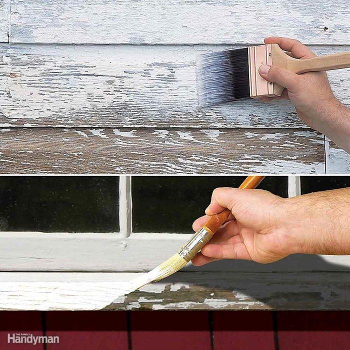 Lock Down Peeling Paint
