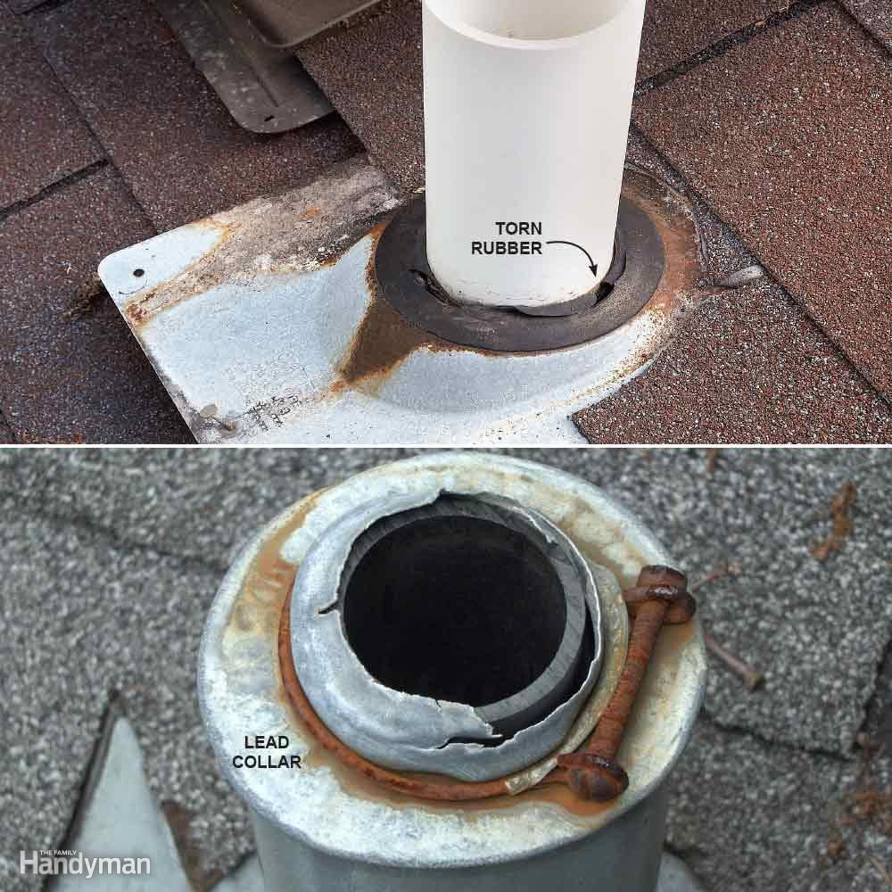 Vent Flashing Failure