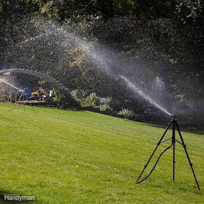 Best Way to Water Lawn: Run All Sprinklers at Once When Using Well Water