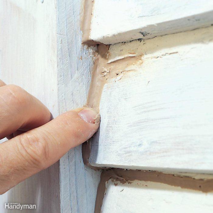 Check Exterior Caulking and Weatherstripping
