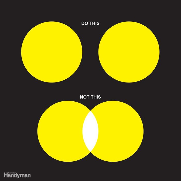 Don't Overlap Pools of Light