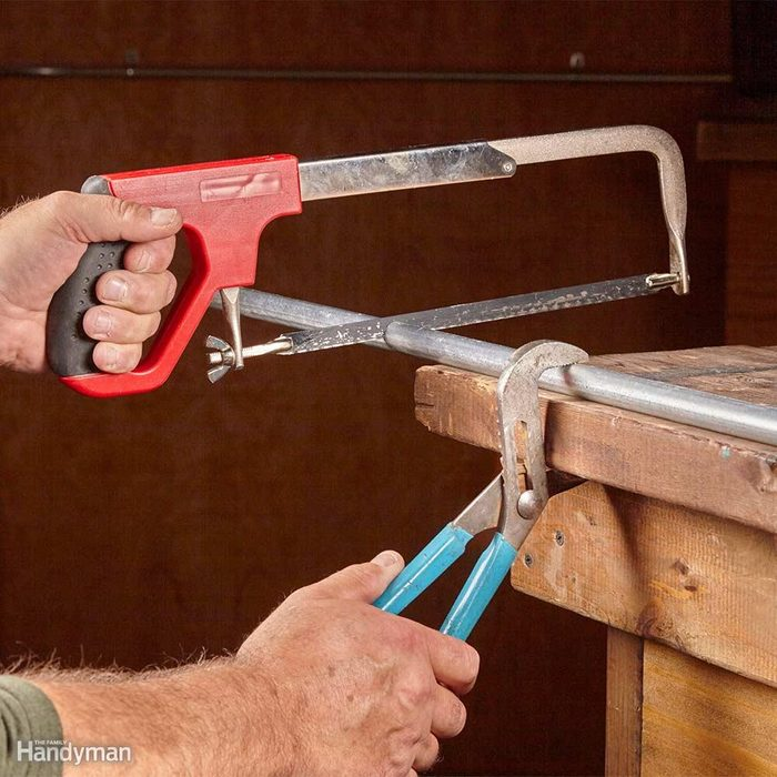 How to Cut Conduit: Clamp Conduit for Easy Cutting