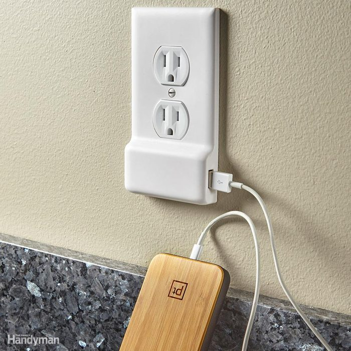 Add a USB Charger in a Snap