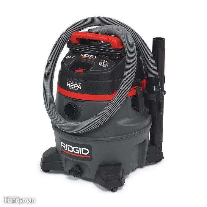 Vacuum the Lead Paint Chips