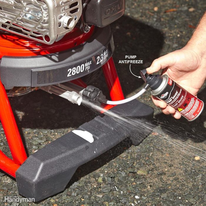 Winterize Your Pressure Washer or Ice Might Destroy It