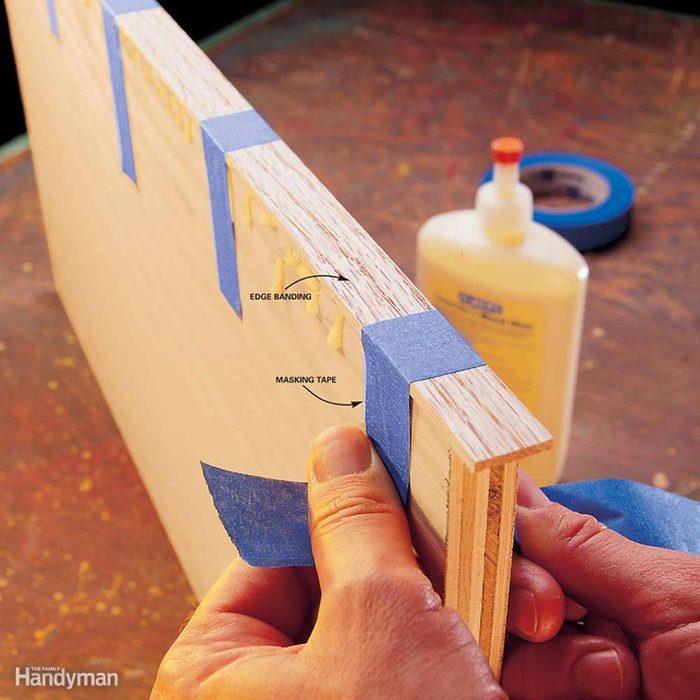 Edge-Banding Plywood