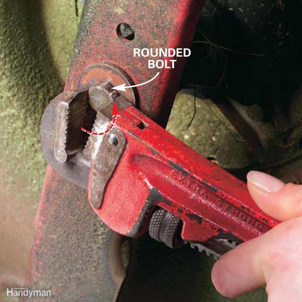 Wrench for Rounded Bolt Heads