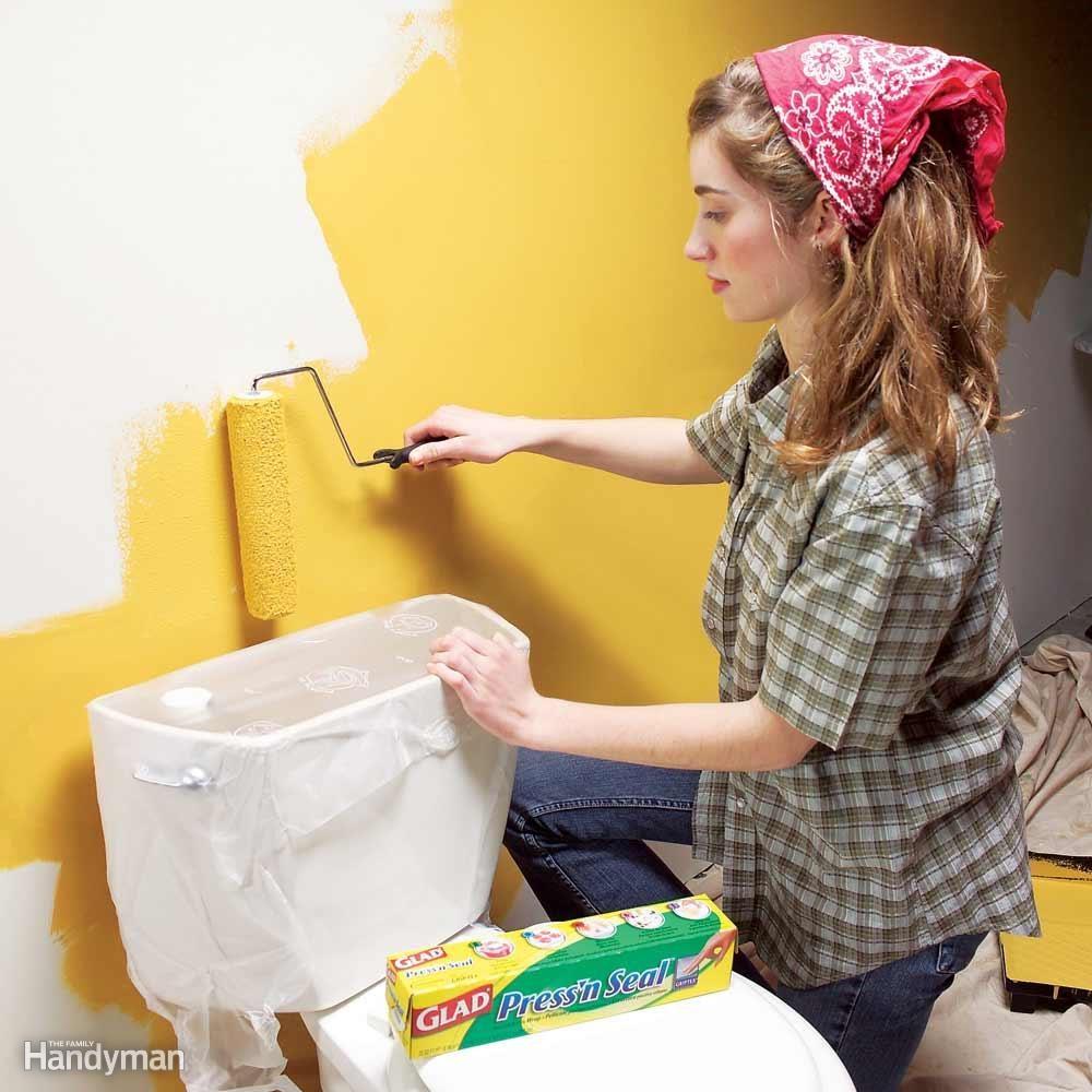 Self-Stick Paint Shield