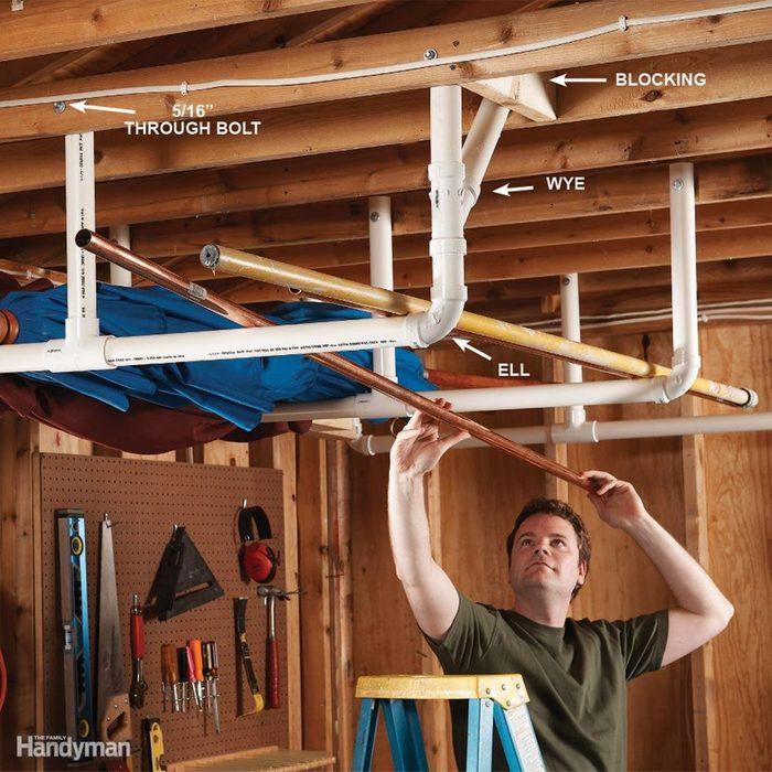 Overhead Storage in the Garage