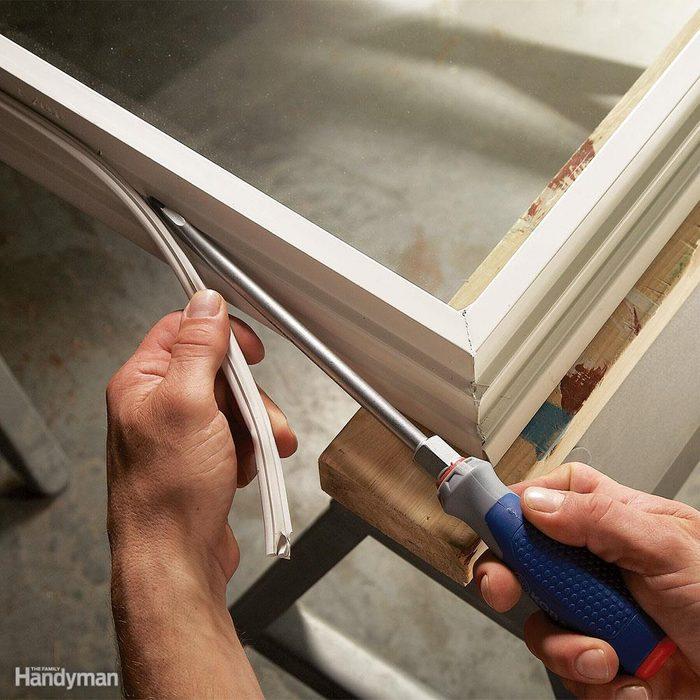 Seal a Drafty Window