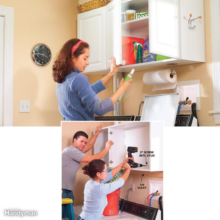 Laundry Room Wall Cabinet